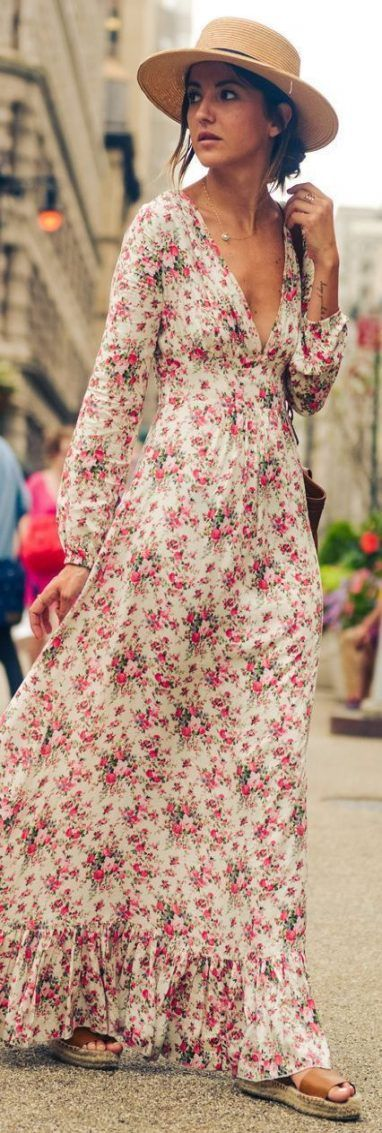 Photo of 42+ ideas dress casual summer boho floral prints for 2019