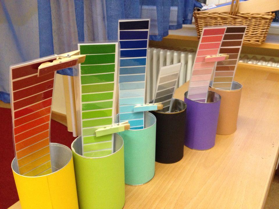 montessori mit f r kinder n farben erkennen und zuordenen. Black Bedroom Furniture Sets. Home Design Ideas