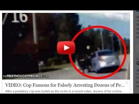 Cop Famous 4 Falsely Arresting Dozens of People is Run Over By Woman Who...
