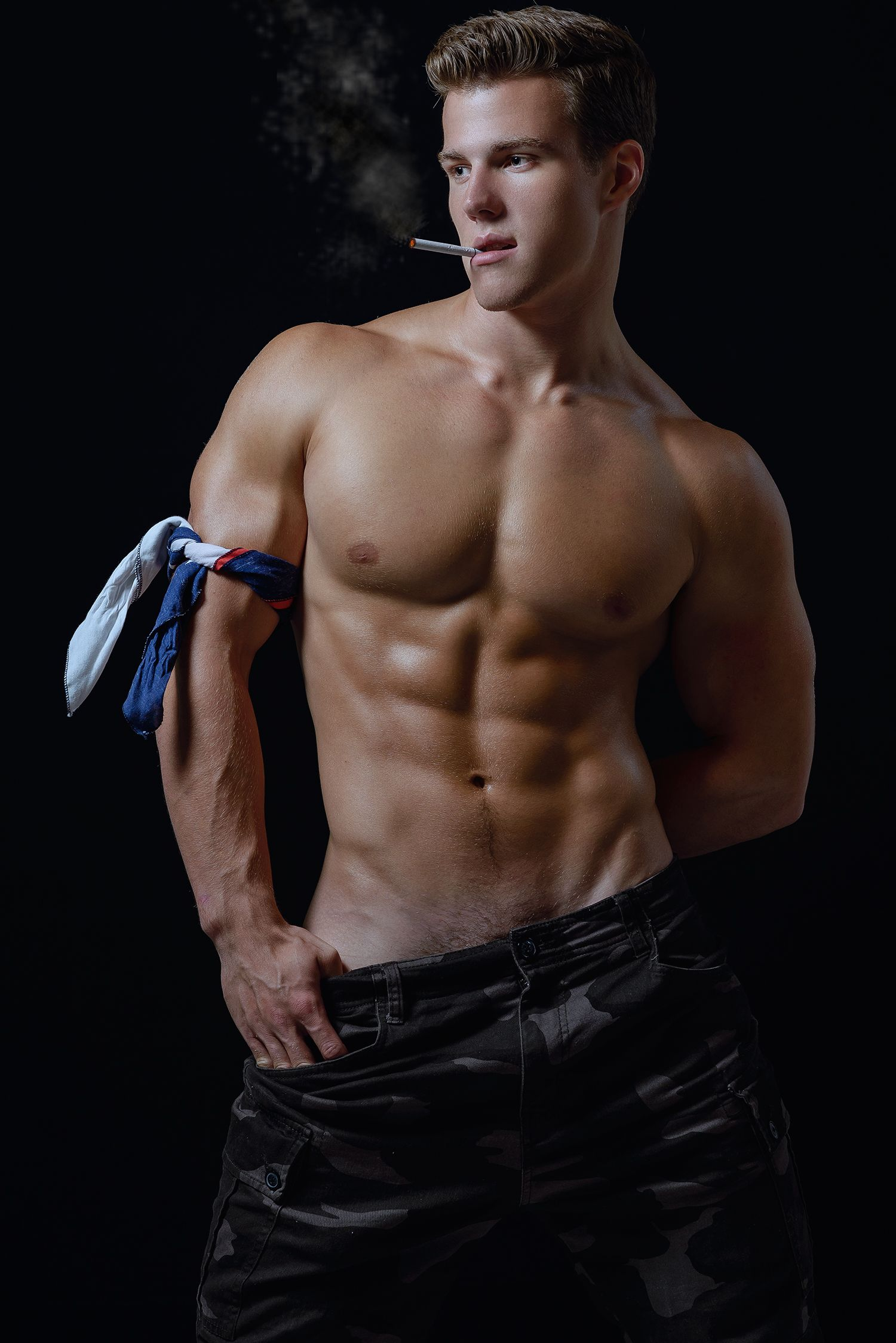 Free smoking gay male pics