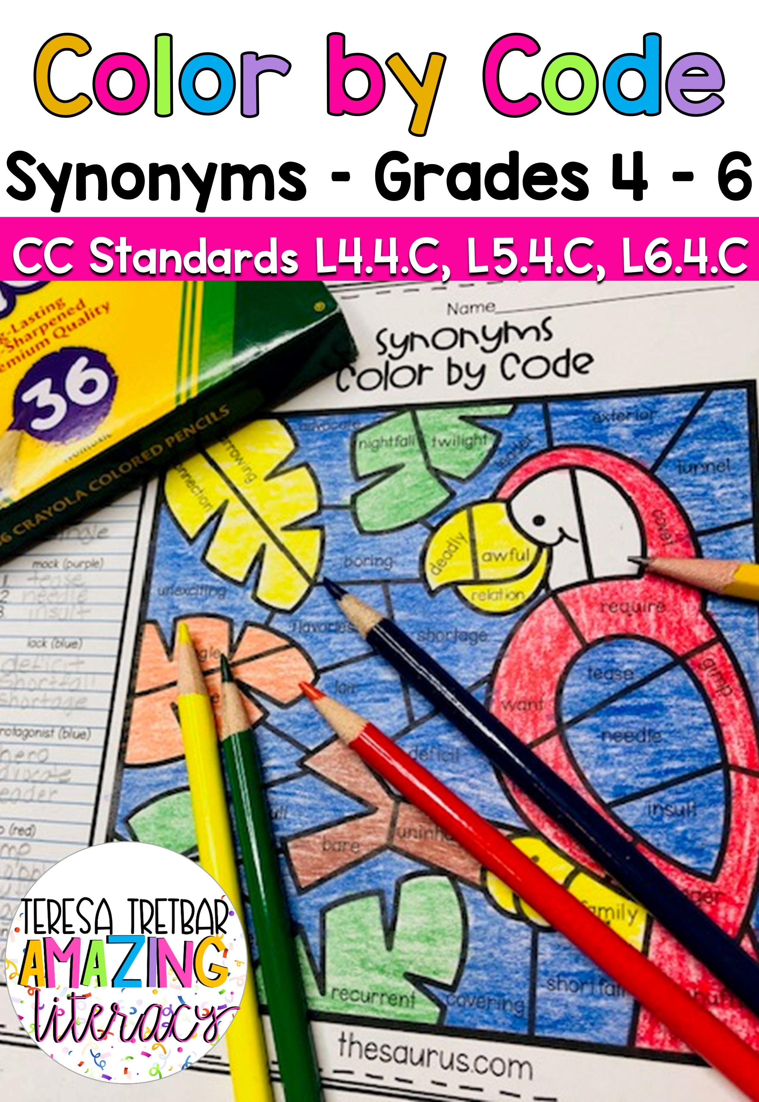 Thesaurus Language Art Activities Elementary Language Arts Activities Coding