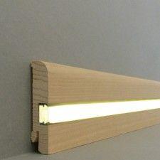 Licht Fussleisten Licht Sockelleisten Kiel Echtholzfurnier 20 80 0l Aningre Roh Sockelleisten Fussleisten Beleuchtungsideen