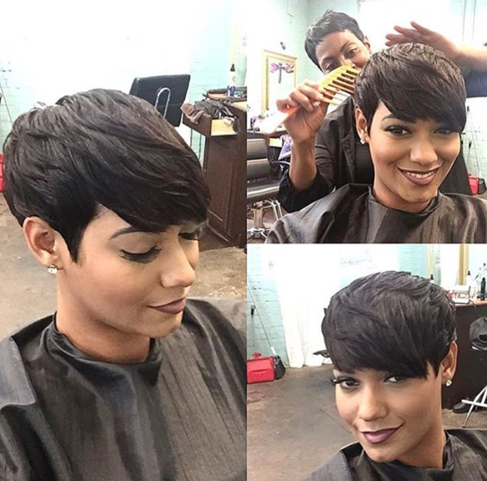 Love her pixie tahliaatlantasrealtor black hair information