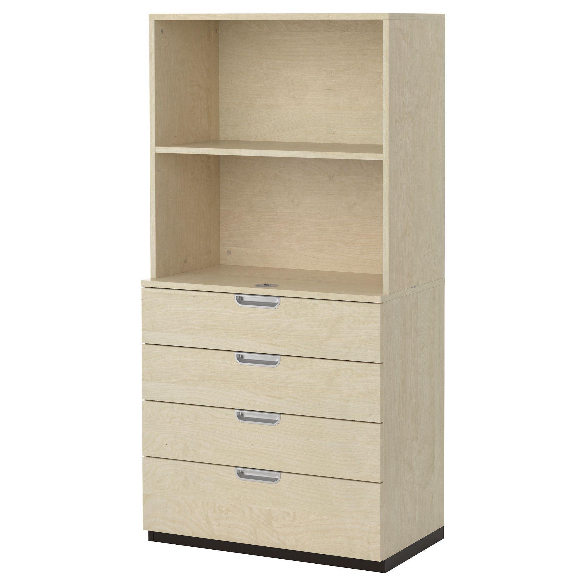 ikea office drawers. GALANT Storage Combination With Drawers - Birch Veneer IKEA Ikea Office C