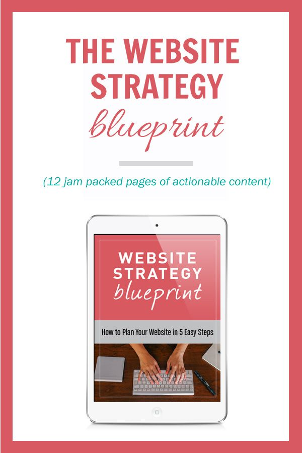 How to Plan Your Website Strategy Create, Strategic marketing plan - new blueprint sites css