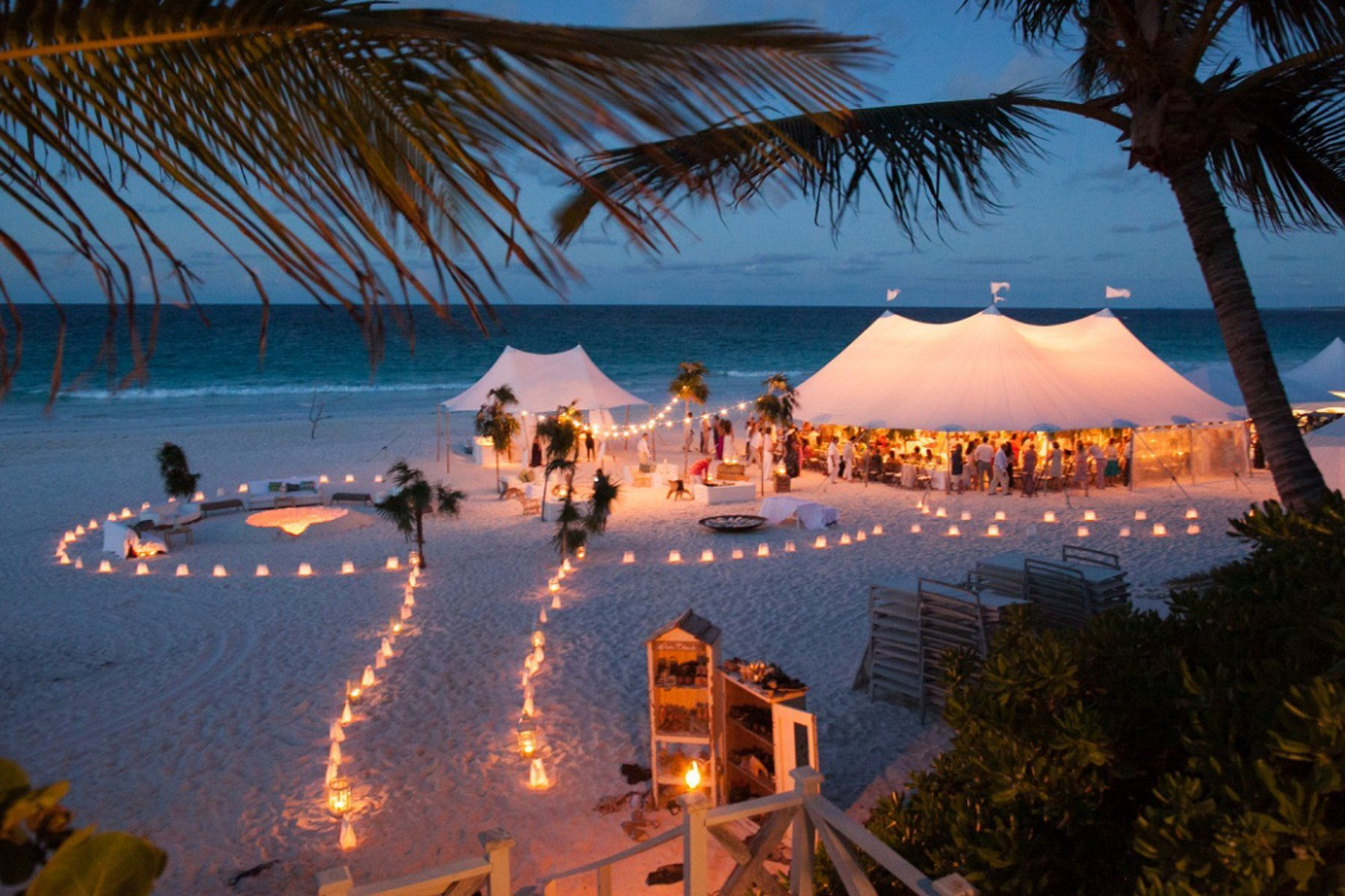 Beach wedding decoration ideas  Beautiful beach wedding DestinationWeddingIdeas  Destination
