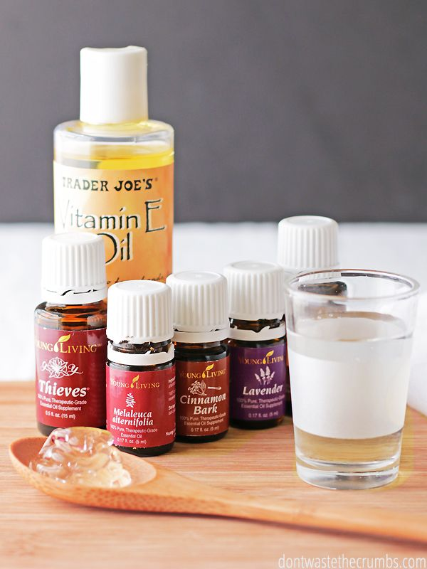 Diy All Natural Homemade Hand Sanitizer Young Living Natural