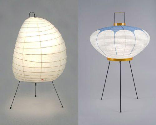Akari Table Lamp Isamu Noguchi Luminaria De Mesa Iluminacao