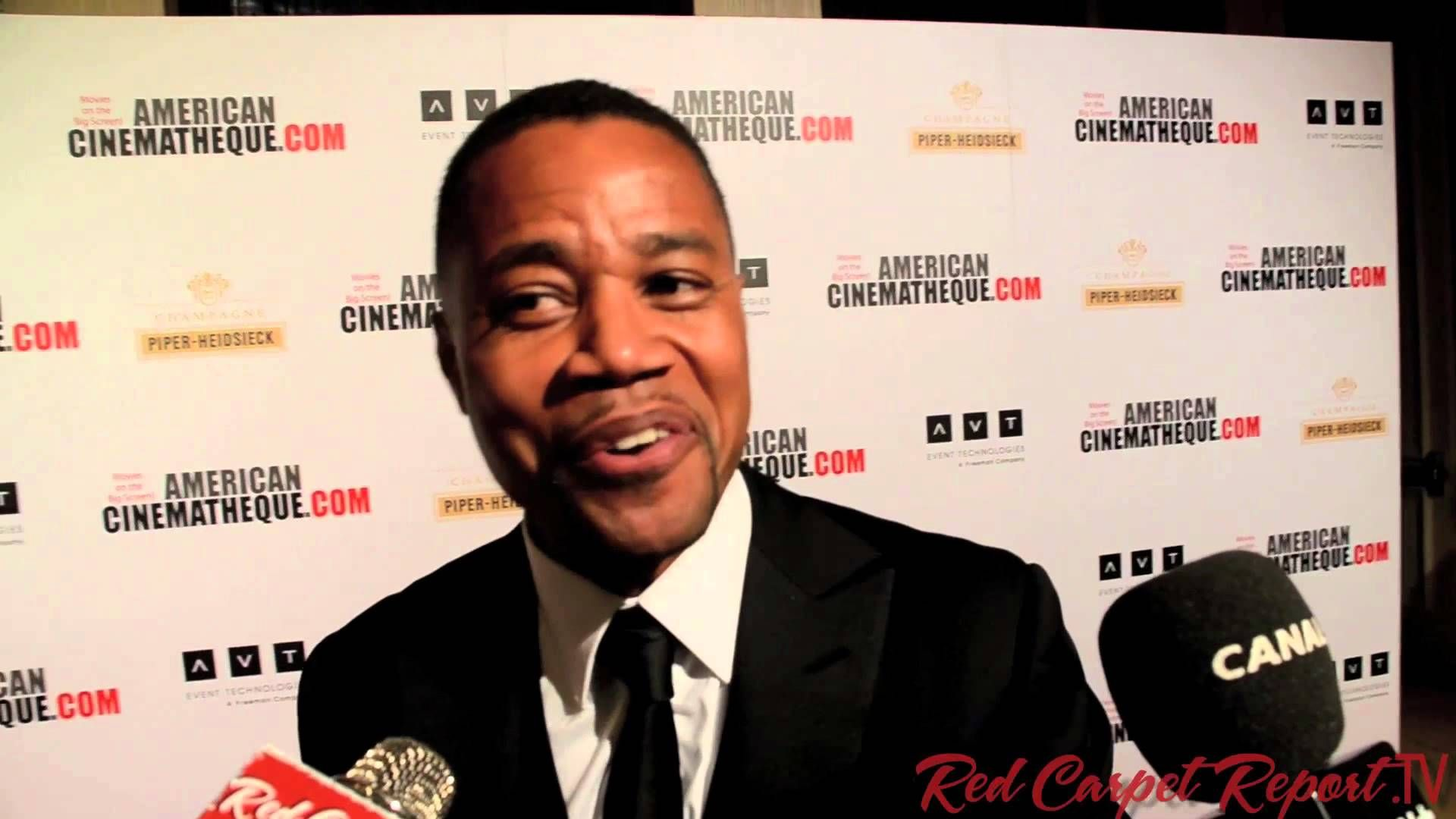 "Cuba Gooding Jr. ""Carry Me Home"" at #amcinaward2013 Gala for Jerry Bruckheimer http://youtu.be/M4vZrFb4Tfw #Interview"