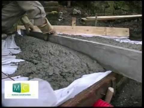 Comment faire une dalle en beton ? dalle beton Pinterest - Dalle De Beton Exterieur