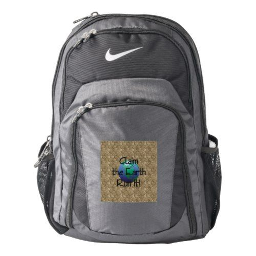 TOP Runner's Earth Nike Backpack