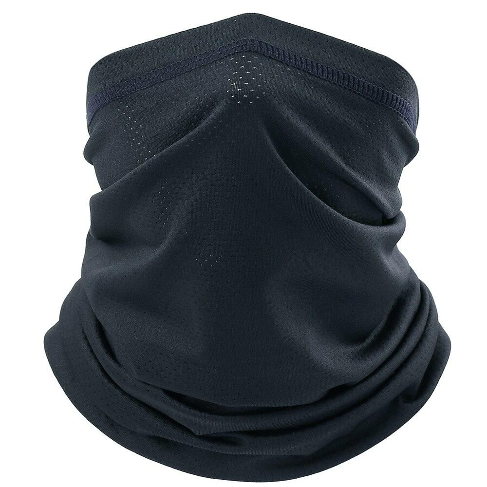 Breathable Bandana Face Mask Cycling Biker Outdoor Snood Neck Scarf Tube new