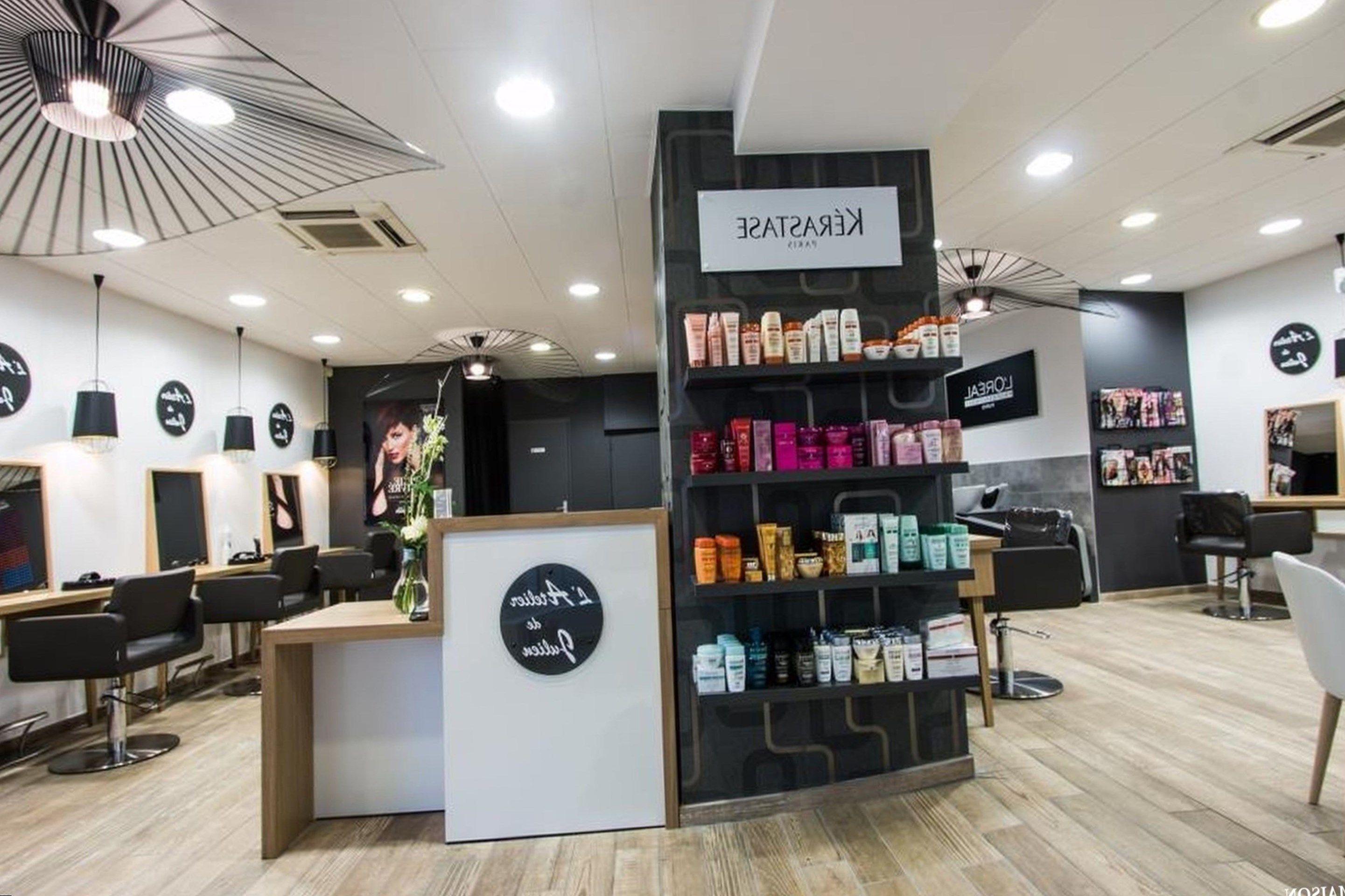 Idée deco salon de coiffure — les plus jolis modèles  Deco salon