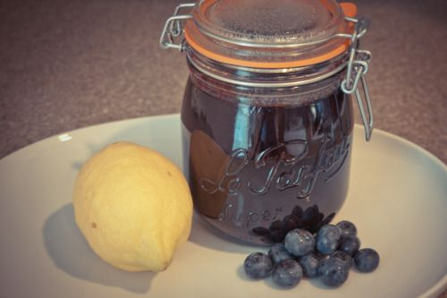 how to make blueberry jam with honey