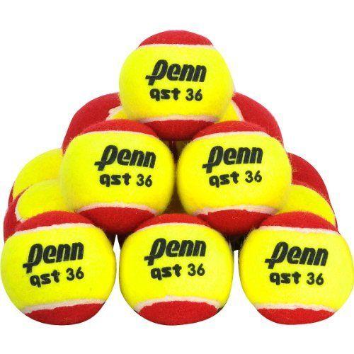 Penn Quick Start 36 Felt 72 Case Pack Kids Tennis Balls 72 Pack By Penn 84 99 Penn S Quick Start Teaching Tennis Balls Are Tennis Balls Kids Tennis Tennis