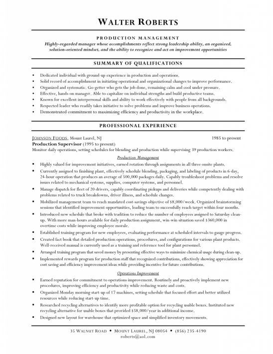 Example Resume Warehouse Worker Resume Objective Forklift Driver - professional resume objective