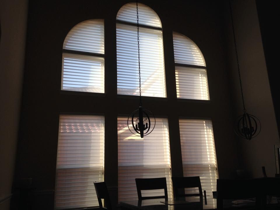 Hunter Douglas Silhouette Window Shadings With Arch And