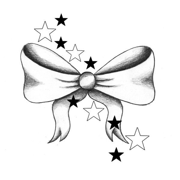 I want a bow tattoo... perhaps on the back of my neck ...