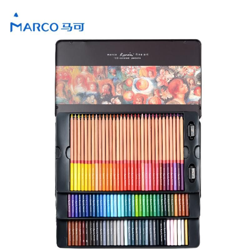 Crayons Couleurs Pastels Marco Renoir Couleur Peinture Cahier