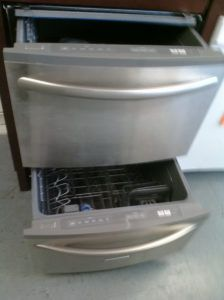 Superieur Two Drawer Dishwasher Kitchenaid