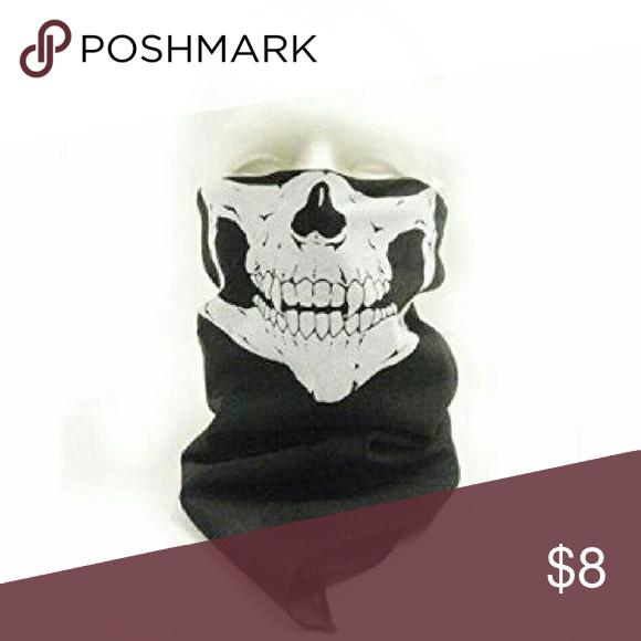 dd11fa40d1ec Skull ski mask bandana skeleton scarf
