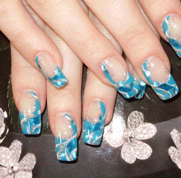 Acrylic Nail Designs - Pretty Designs - Acrylic Nail Designs Acrylic Nail Designs, Blue Acrylic Nails And