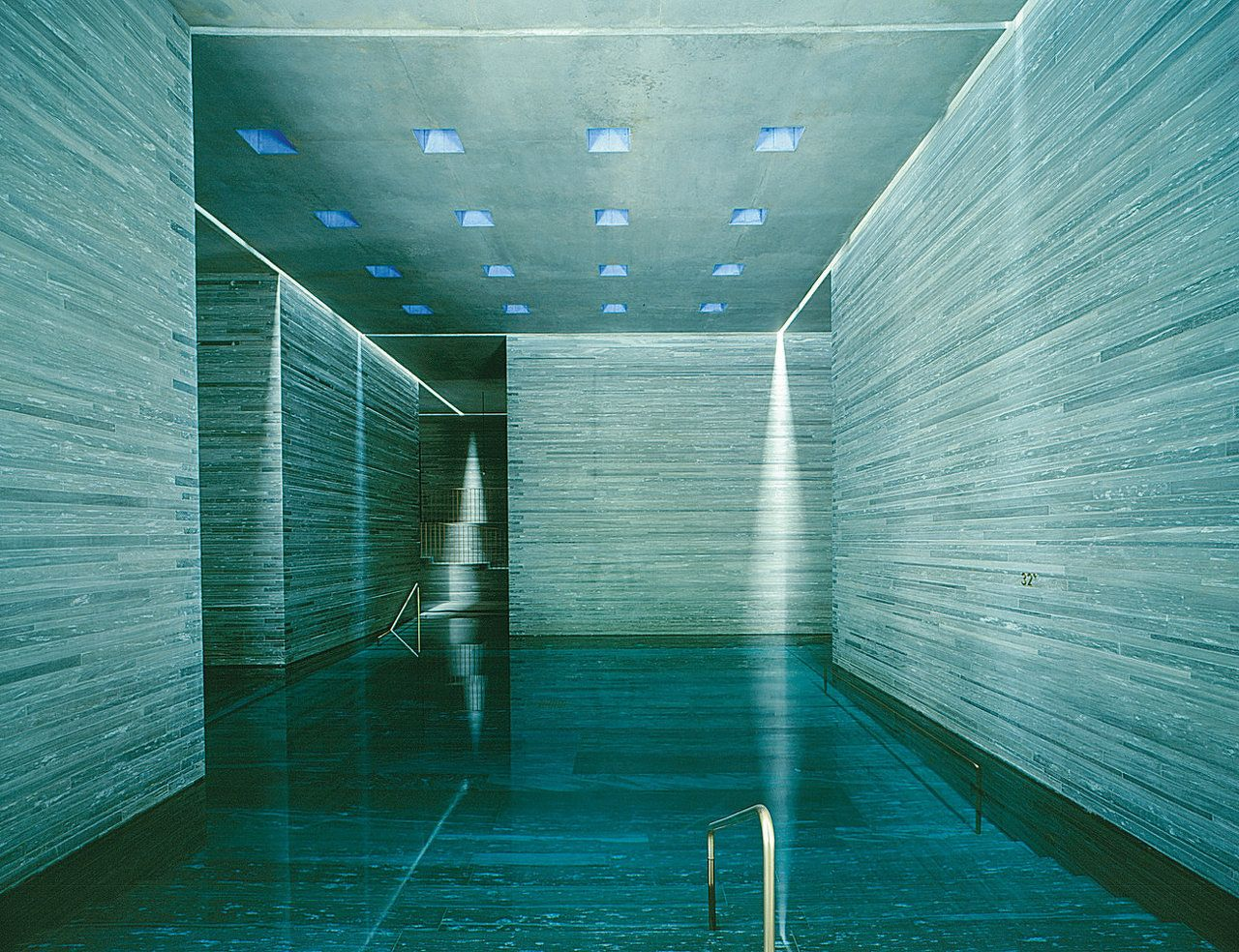 Therme Vals Switzerland by PeterZumthor Peter zumthor