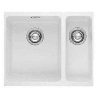 Franke Kubus KBG 160 Fragranite Kitchen Sink Polar White R/H ...