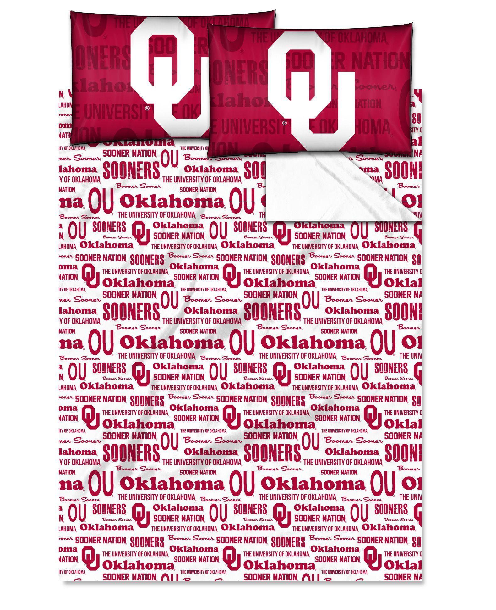 Oklahoma College Full Sheet Set Anthem Series