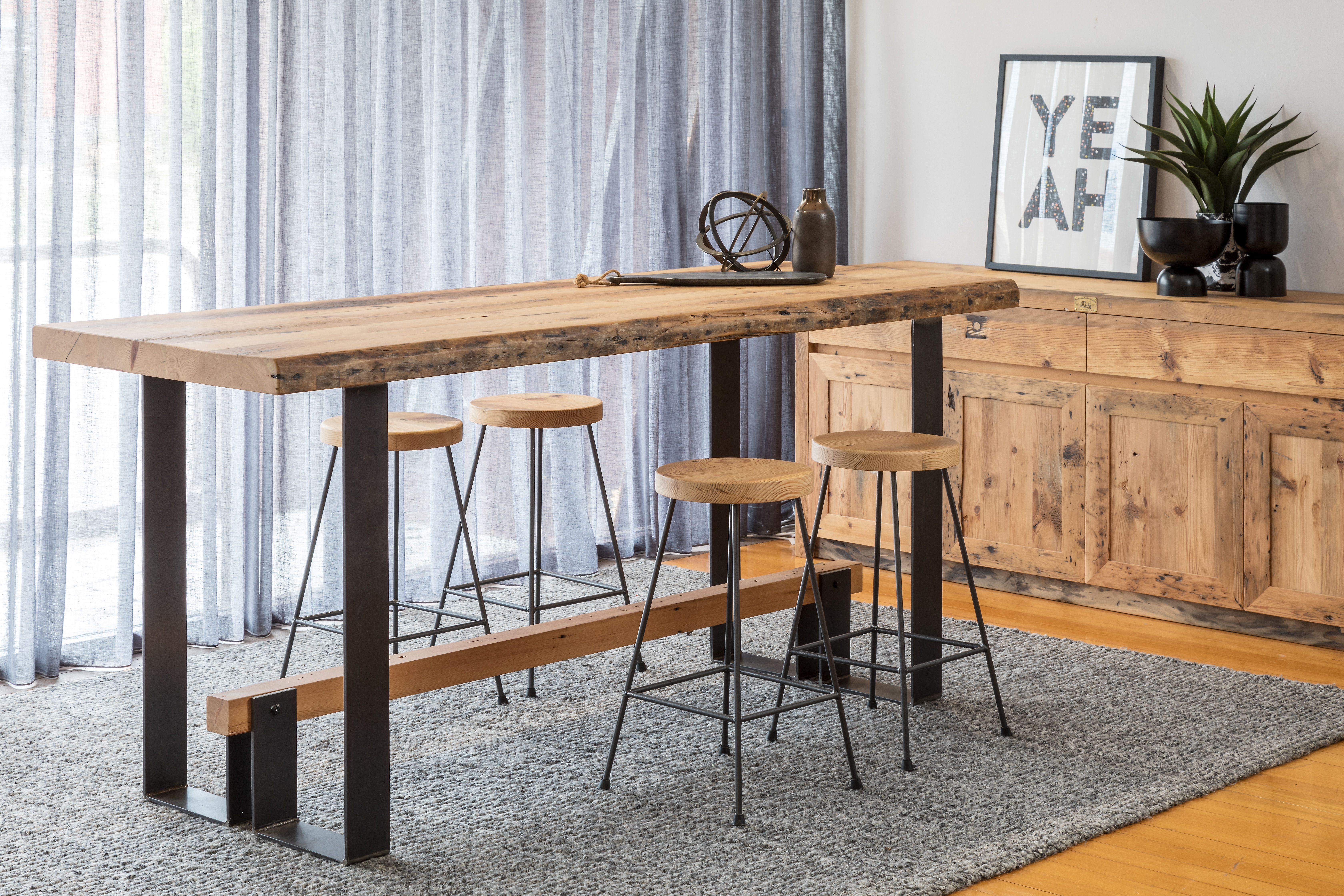 Recycled Bar Table Bar Table Timber Dining Table Table