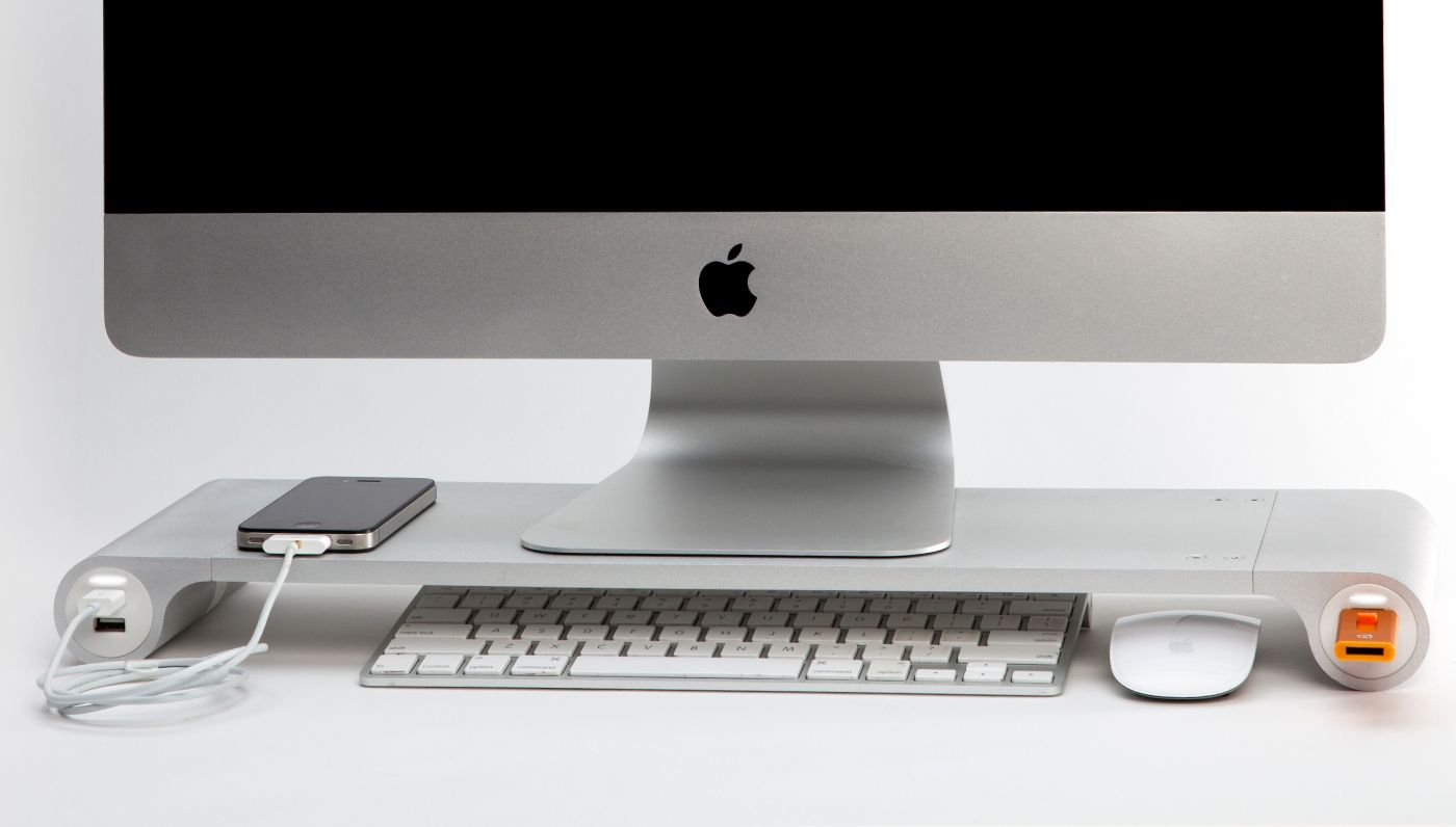 Space Bar Desk Organiser | jared's stuff | Desk organization, Mac