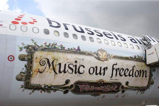Tomorrowland helpt Brussels Airlines aan recordmaand - HLN.be