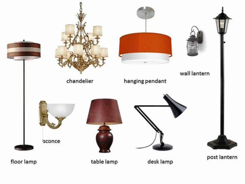 Lovely Types Of Lamps