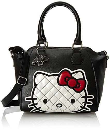 Hello Kitty Quilted Face Double Handle Xbody Convertible Shoulder Bag, Black, One Size Hello Kitty http://www.amazon.com/dp/B00WBHRHSS/ref=cm_sw_r_pi_dp_rz7.wb05AW0XN