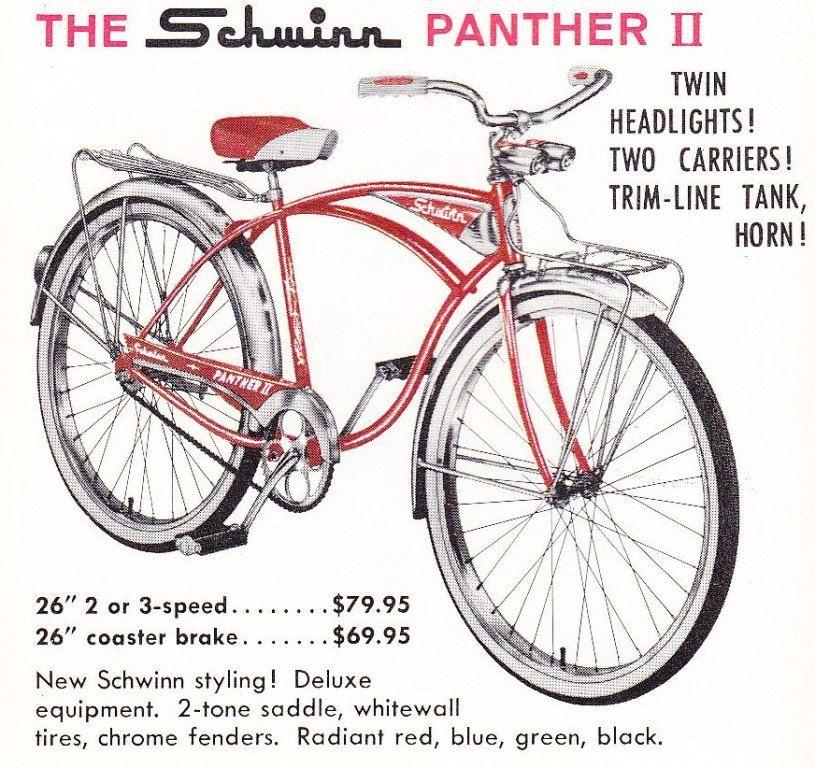 1960 Schwinn Catalog Schwinn Schwinn Bicycles Schwinn Bike