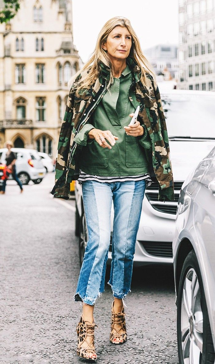 The Polarizing Print People Are Wearing Again via @WhoWhatWear