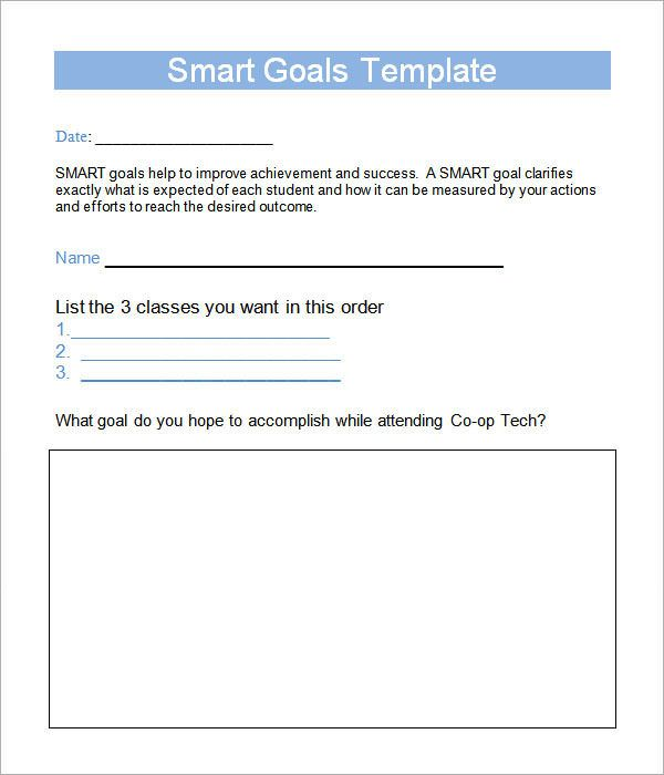 Smart Goal Worksheet Template this is 4my LFUK HARASSMENT