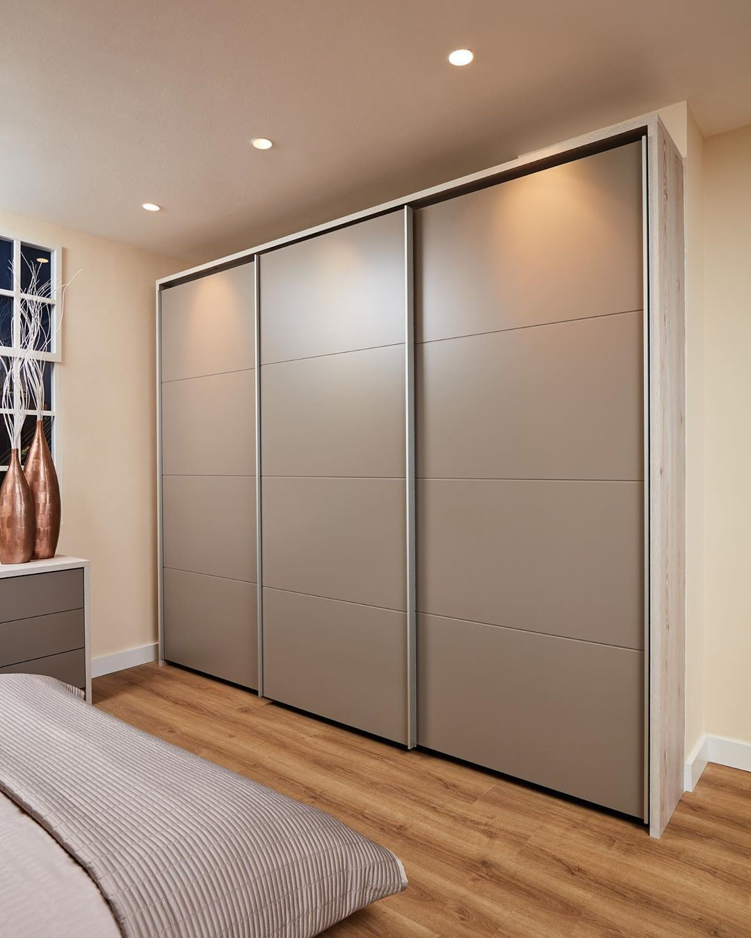 The Size And Shape Of Your Bedroom Will Influence The Style Of Door That You Choose I Bedroom Cupboard Designs Modern Cupboard Design Wardrobe Interior Design