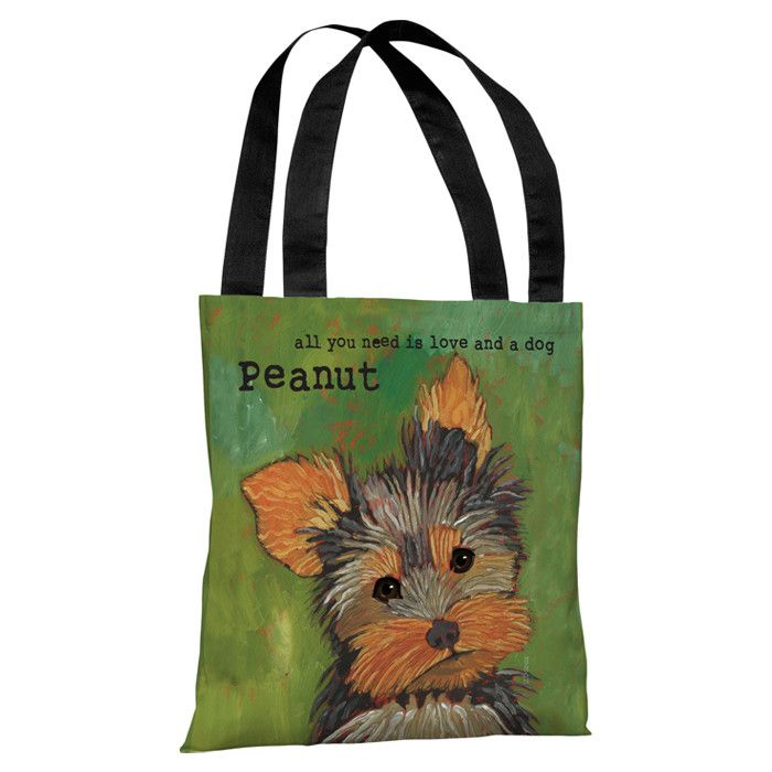 Personalized Love & Yorkie Tote - Pet Picks from $15 on Joss & Main