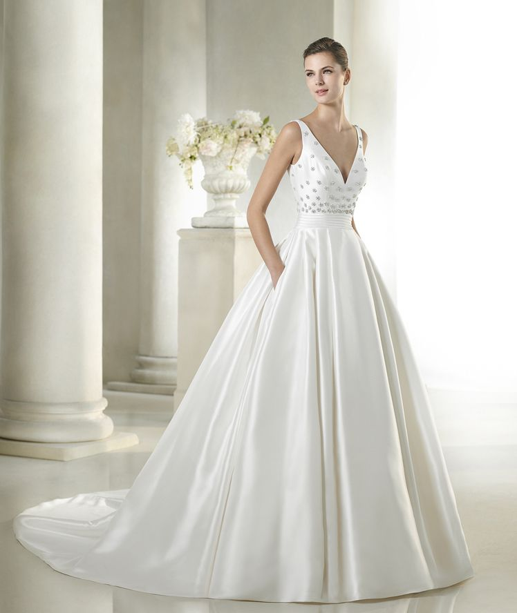 Safara wedding dress from the Costura 2015 - St Patrick collection ...