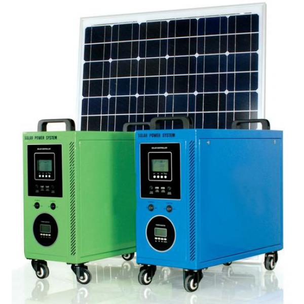 Portable Solar Power System 100w Output Voltage Dc5v 12v Ac220v Solar Panel Power 100w Host Output Capacity Pe Solar Pv Systems