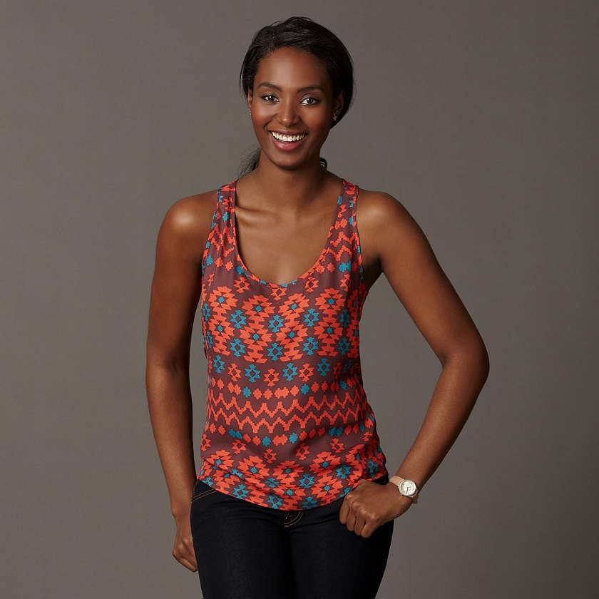 I love this top! Great for summer!