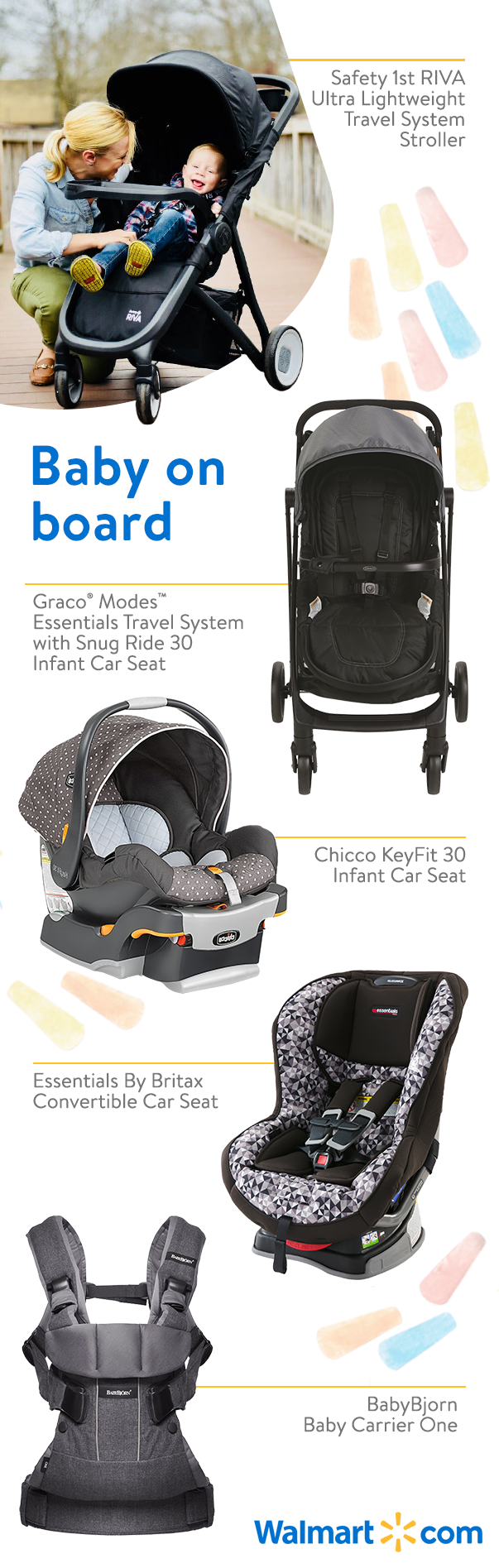 Make traveling with baby comfortable and safe with strollers