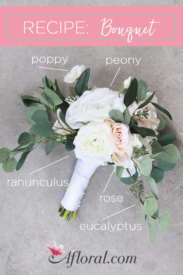 Create Your Own Wedding Bouquets With Artificial Flowers From