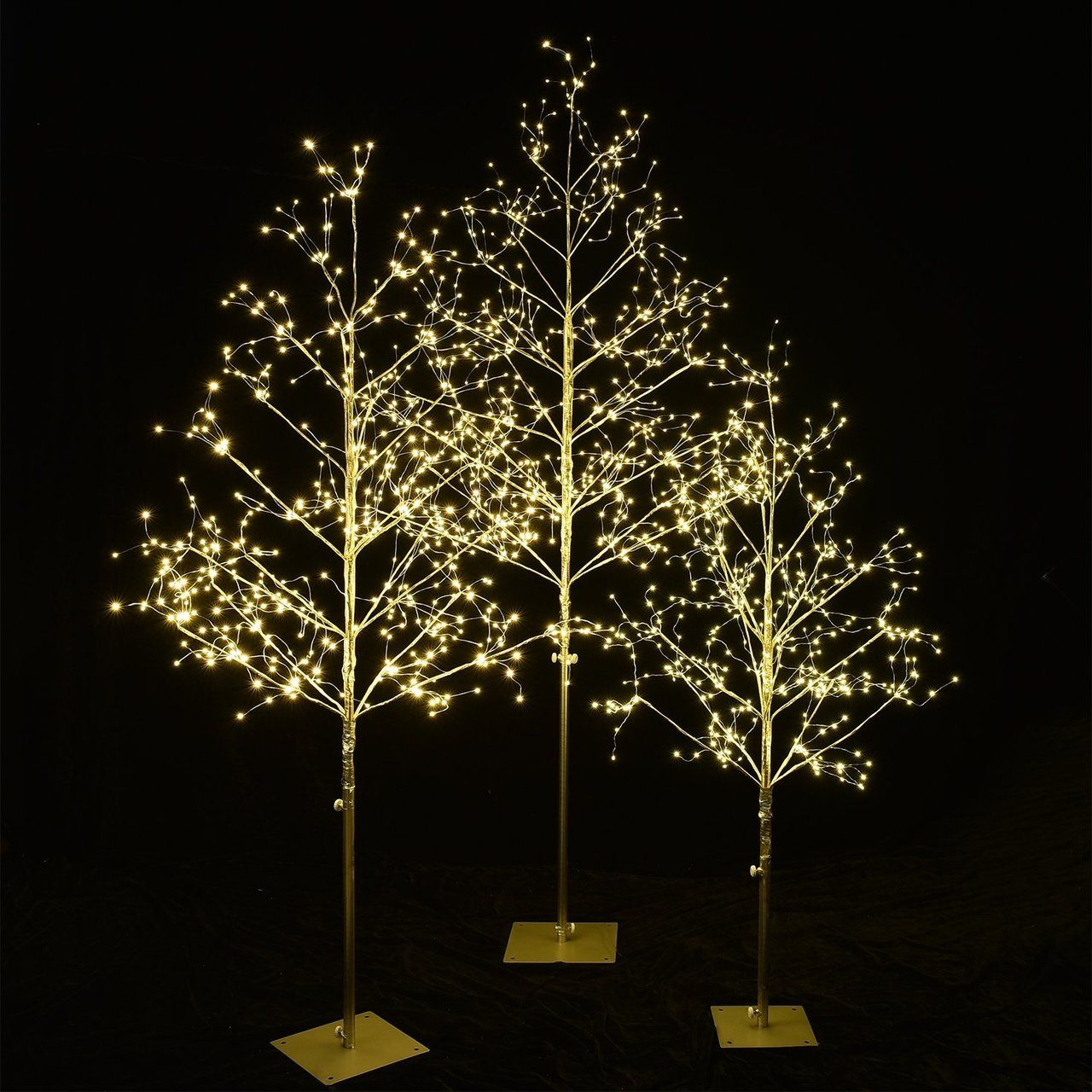 Party Occasions Birch Tree Decor Prelit Tree Church Christmas Decorations