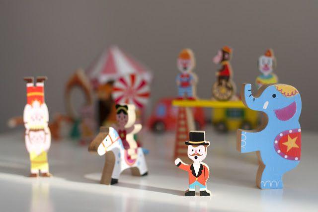 Wooden Circus Toys 26