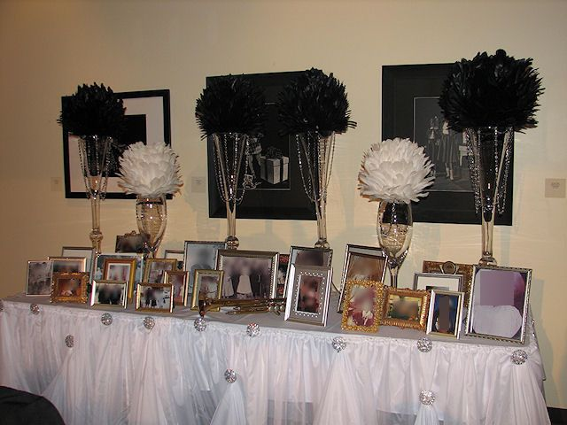 Ball Table Decorations Ostrich Feather Ball Table Decorations  Ostrich Feathers Table