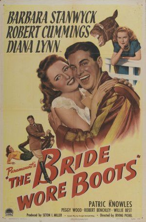 The Bride Wore Boots - Irving Pichel - 1946- Movie Poster
