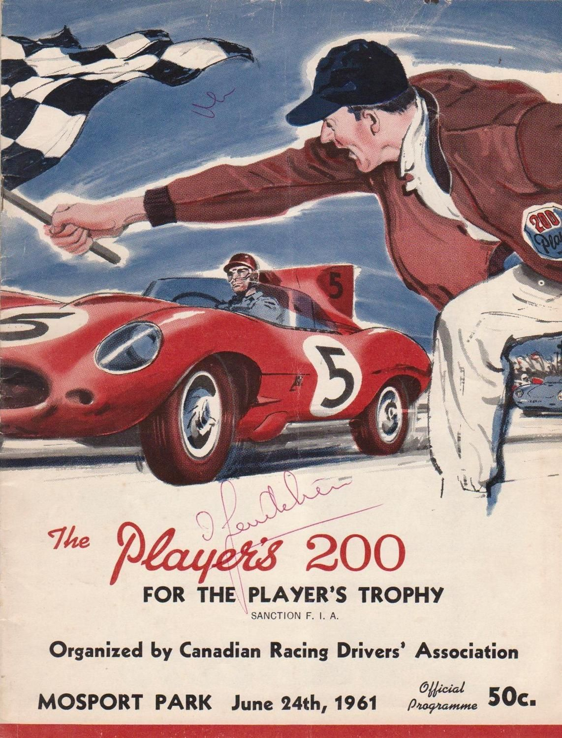 Great Site For Old Racing Program Covers Httpwwwprogcovers - Sports cars posters