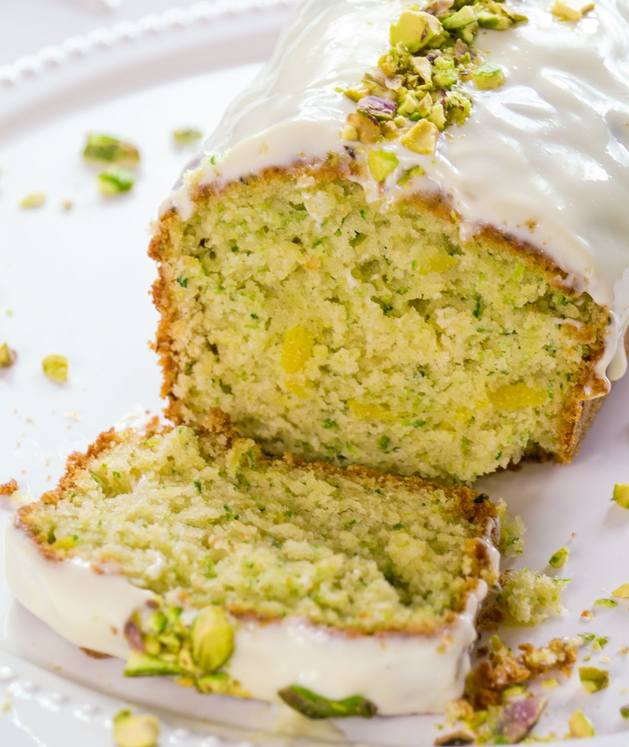 Courgette And Lemon Loaf Cake With Maple Icing Recipe Lemon